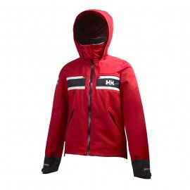 W SALT JACKET rouge