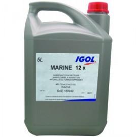 IGOL Marine 12X 15W40 - 5L