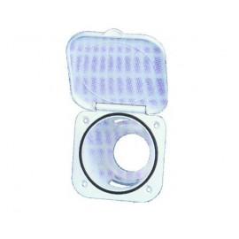 Boîte blanche pour douche 95x95x75mm