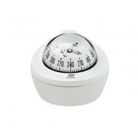 PLASTIMO Compas Offshore 75 modèle mini fut blanc avec éclairage