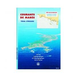 SHOM Courant de maree 558 - Côte Sud de Bretagne, d'Audierne au Crois