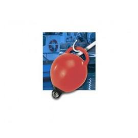 DAN FENDER Bouée de mouillage gonflable orange haute résistance Ø24cm