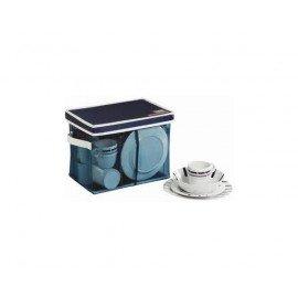 Pack vaisselle Marine Business 24 piéces