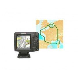 HUMMINBIRD 597ci HD-XD sonde TA + carte France 26G