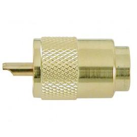 Connecteur VHF male PL259 pour cable 10mm