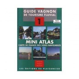 VAGNON Mini atlas des voies navigables + carte de france