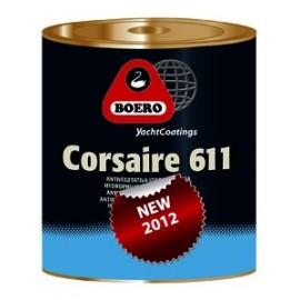 BOERO Antifouling Aluminium CORSAIRE 611 0,75L Blanc 001