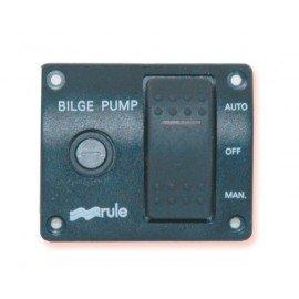 Tableau de commande LED+interrupteur 12V