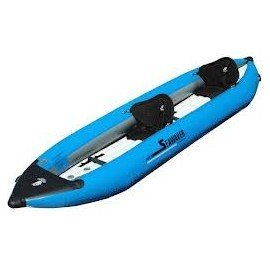 Kayak gonflable biplace
