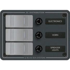 Tableau à fusible 3 interrupteurs