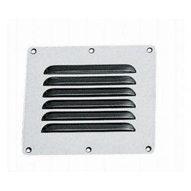 OSCULATI Grille aeration inox rectangulaire 115 x 130 mm