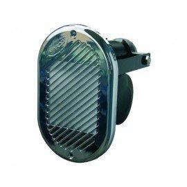 MARCO Avertisseur électrique 24V encastrable avec grille chromée