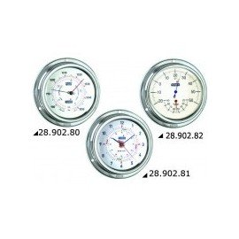 VION A100 Baromètre inox poli 125mm