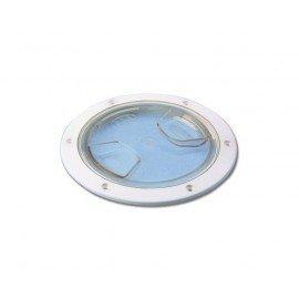 TREM Trappe de visite plastique transparente ø175mm