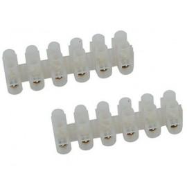 Barrete de 12 connecteurs Diamètre 4