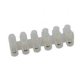 Barrete de 6 connecteurs dimètre 10