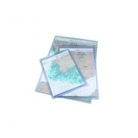 Pochette imperméable pour carte et règle de course 46 x 65 c