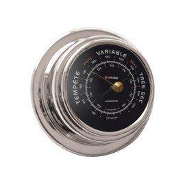 Baromètre chrome 70mm