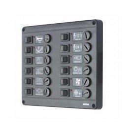VETUS Tableau électrique P12 avec 12 postes