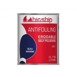 BIGSHIP Antifouling erodable Bleu marine 750ml