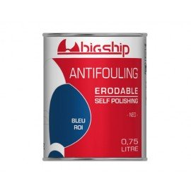 BIGSHIP Antifouling érodable Bleu roi 750ml