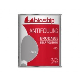 BIGSHIP Antifouling érodable gris 750ml