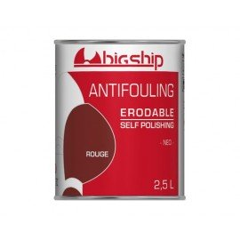 BIGSHIP Antifouling érodable rouge 2,5L