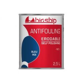BIGSHIP Antifouling érodable Bleu roi 2,5L