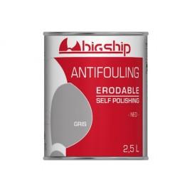 BIGSHIP Antifouling érodable Gris 2,5L