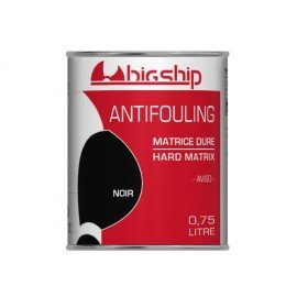 BIGSHIP Antifouling matrice dure Noir 0,75L