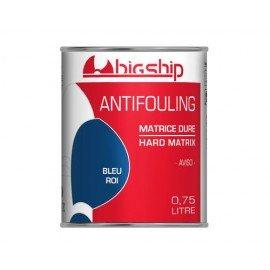BIGSHIP Antifouling matrice dure Bleu roi 750ml