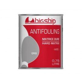 BIGSHIP Antifouling matrice dure Gris 750ml