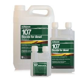 CLINAZUR 107 Biocide Gazole 250ml