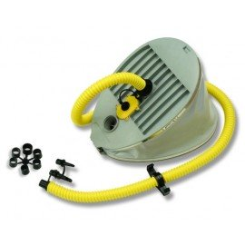Gonfleur à pied à capac. variable1,5-6,5L Bravo9+adaptateurs
