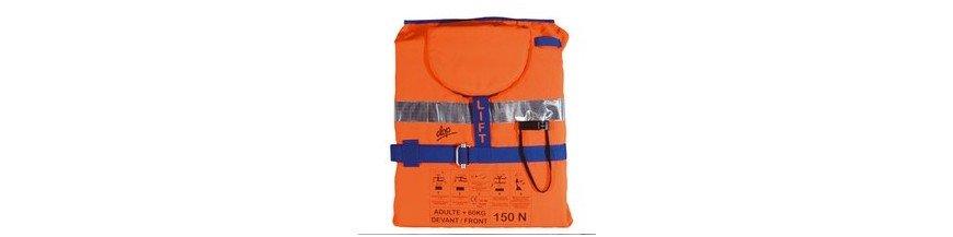 Gilets de sécurité pour bateau