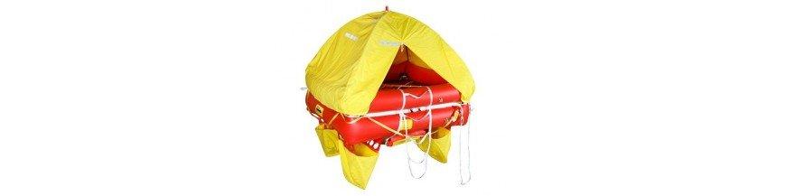 Radeaux de survie pour bateau