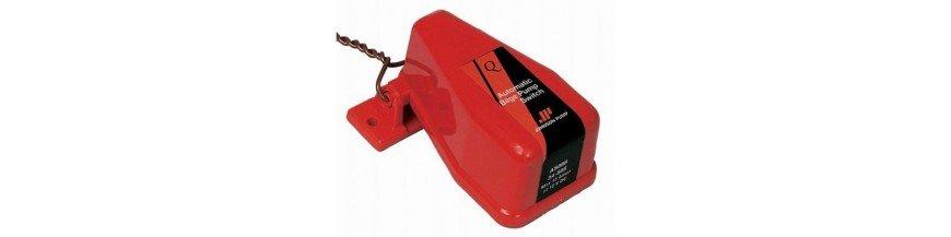 Contacteurs de pompe d'assèchement
