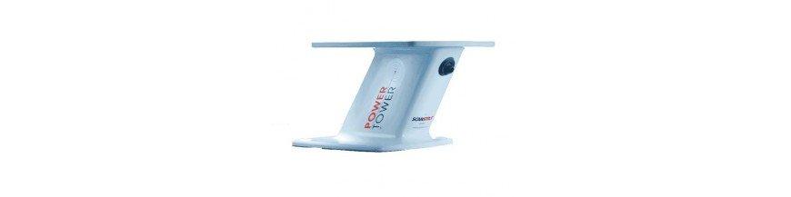 Support d'antenne radar bateau