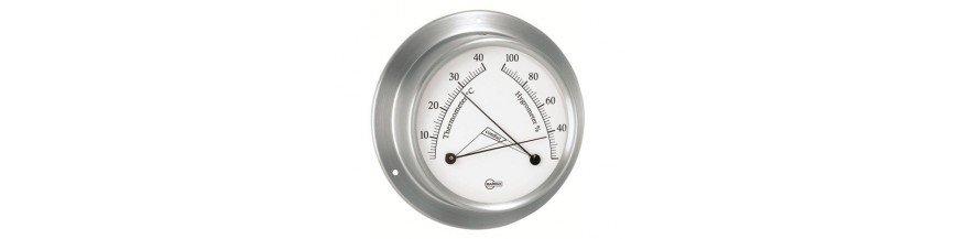 Thermomètres et hygromètres de bateau