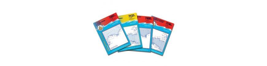 Carte SHOM serie L du 2000 à 6942